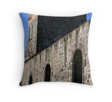 stone church Throw Pillow