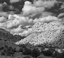 Variable Light, Ghost Ranch, New Mexico by TheBlindHog