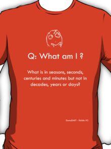 Riddle #3 T-Shirt