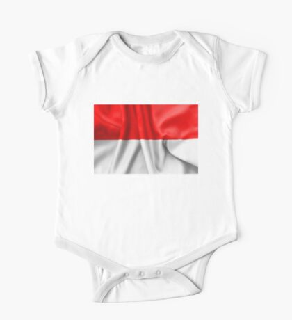 Indonesia Flag One Piece - Short Sleeve