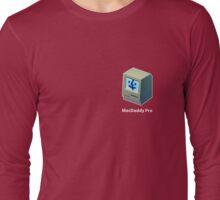Mac Daddy Pro Badge - creativebloke.com - t shirt Long Sleeve T-Shirt