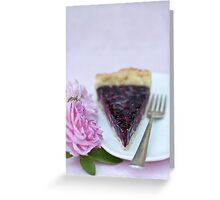 Slice of pie Greeting Card