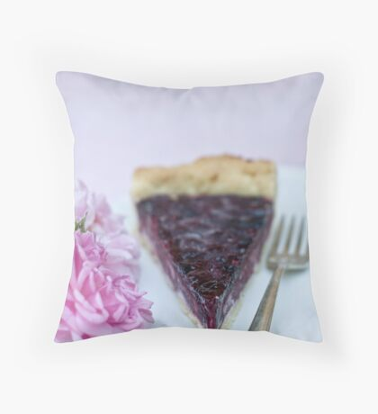Slice of pie Throw Pillow