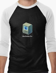Mac Daddy Pro Chest - creativebloke.com - t shirt Men's Baseball ¾ T-Shirt
