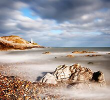 Mumbles Lighthouse by Paul Turner