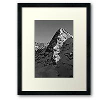 Eiger North Wall Framed Print