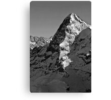 Eiger North Wall Canvas Print