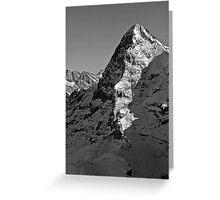 Eiger North Wall Greeting Card