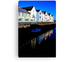 sur le continent killyleagh reflections #1 Canvas Print