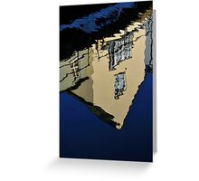 sur la continent killyleagh reflections #3 Greeting Card