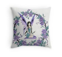 Faerie Ring Throw Pillow