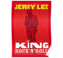 JERRY LEE LEWIS PRINT POSTER Poster