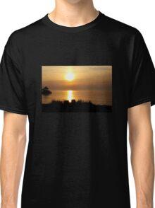 Golden Sunset Classic T-Shirt