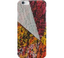 Corner Splatter # 13 iPhone Case/Skin
