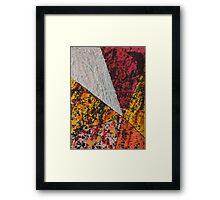 Corner Splatter # 13 Framed Print