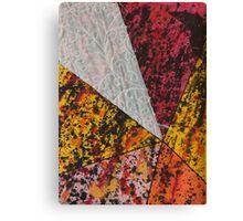 Corner Splatter # 13 Canvas Print