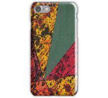 Corner Splatter # 14 iPhone Case/Skin