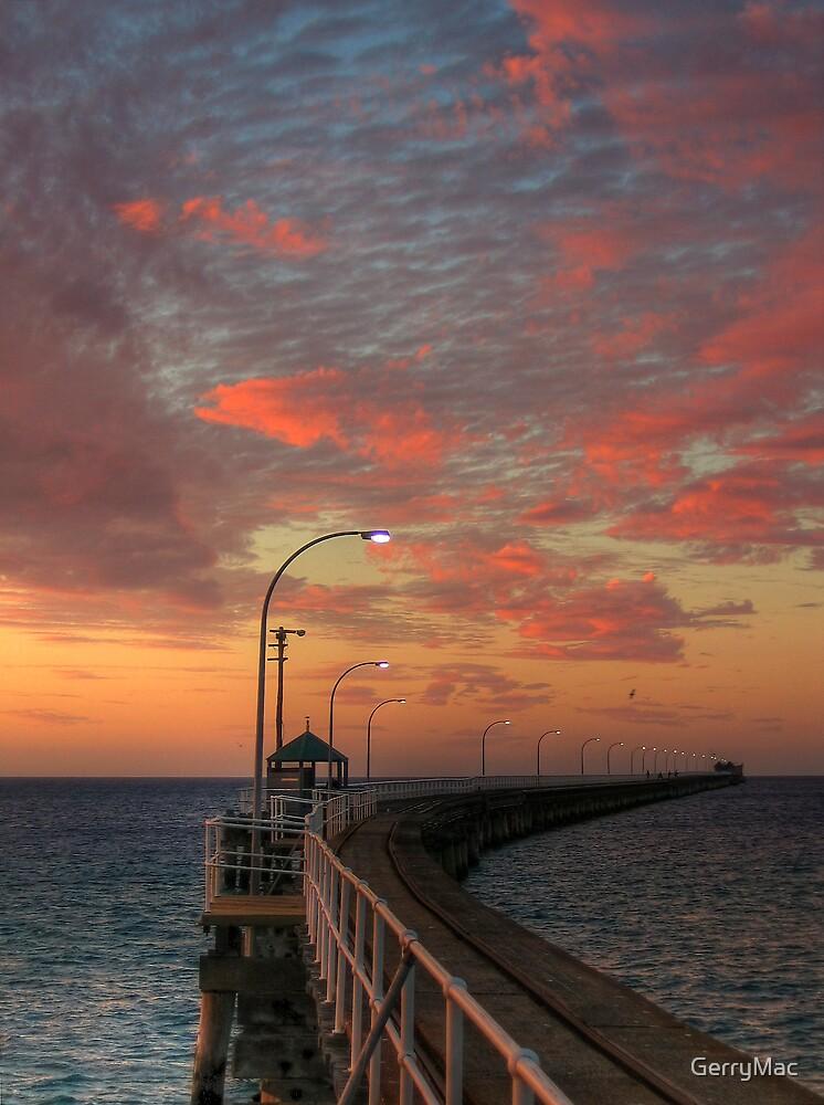 Evening Walk Along the Jetty by GerryMac