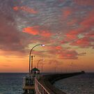 Evening Walk Along the Jetty by GerryMac