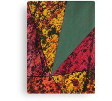Corner Splatter # 14 Canvas Print