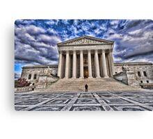 The Supreme Court Canvas Print