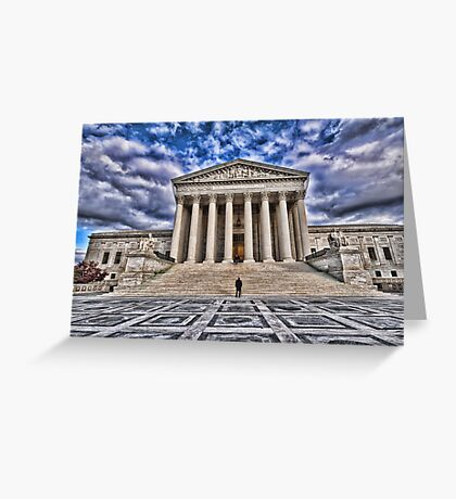 The Supreme Court Greeting Card