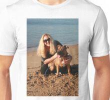 23. Shondelle & her Staffy-Ridgeback Unisex T-Shirt