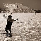 Net Caster by Lance Jackson