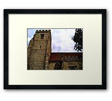 The Witches' Church Framed Print