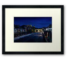 Durham City at Dusk Framed Print
