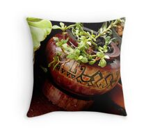 l love tactile things Throw Pillow