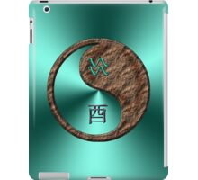 Aquarius & Rooster Yin Earth iPad Case/Skin