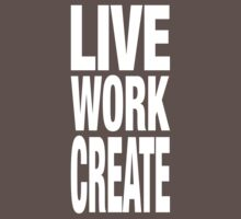 Live Work Create Kids Clothes
