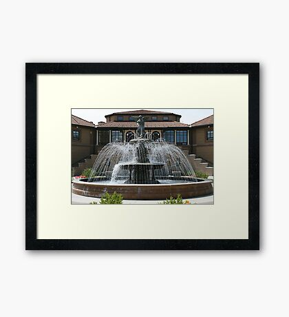 The Riviera Framed Print