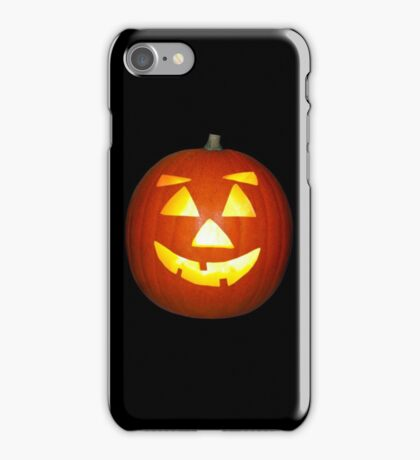 Halloween Jack o Lantern Pumpkin iPhone Case/Skin
