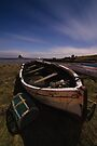 Lindisfarne from the Boatyard by David Lewins