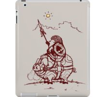 Nature Warriors: Battle Hedgehog iPad Case/Skin
