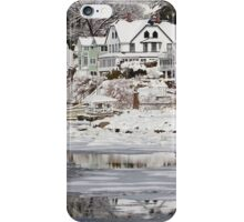 Icy Snowy Winter Wonderland iPhone Case/Skin