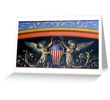 Art from the U.S. Capitol, Washington, D.C. Greeting Card