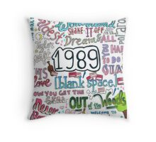 1989- Taylor Swift Throw Pillow
