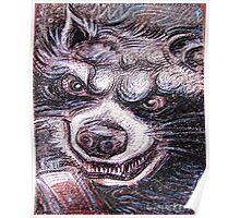 Rocket Raccoon Poster