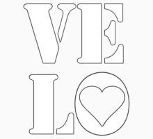 VELO / LOVE TEE Kids Clothes