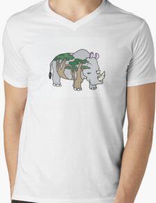 Sly Rhino Mens V-Neck T-Shirt