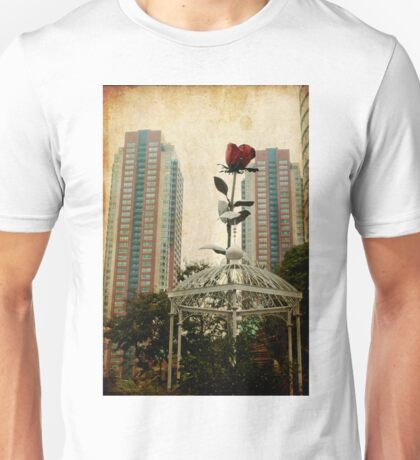 Autumn in Japan:  The Story of the Giant Flower Unisex T-Shirt