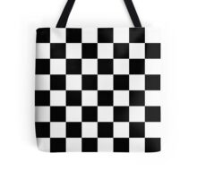 Classic chequered flag Tote Bag