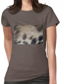 Pig Skin Hair Womens Fitted T-Shirt