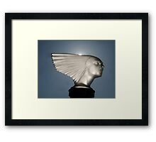 """Pierce Lady"" Framed Print"