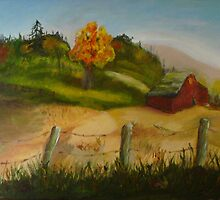 Autumn countryside by Rick Fox
