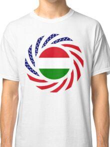 Hungarian American Multinational Patriot Flag Series Classic T-Shirt