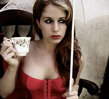 Tea Cup Fancy  by SarahBethFaison